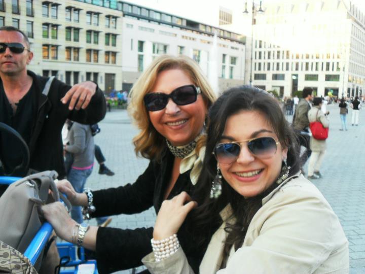 Io e la mia mamma a Berlino