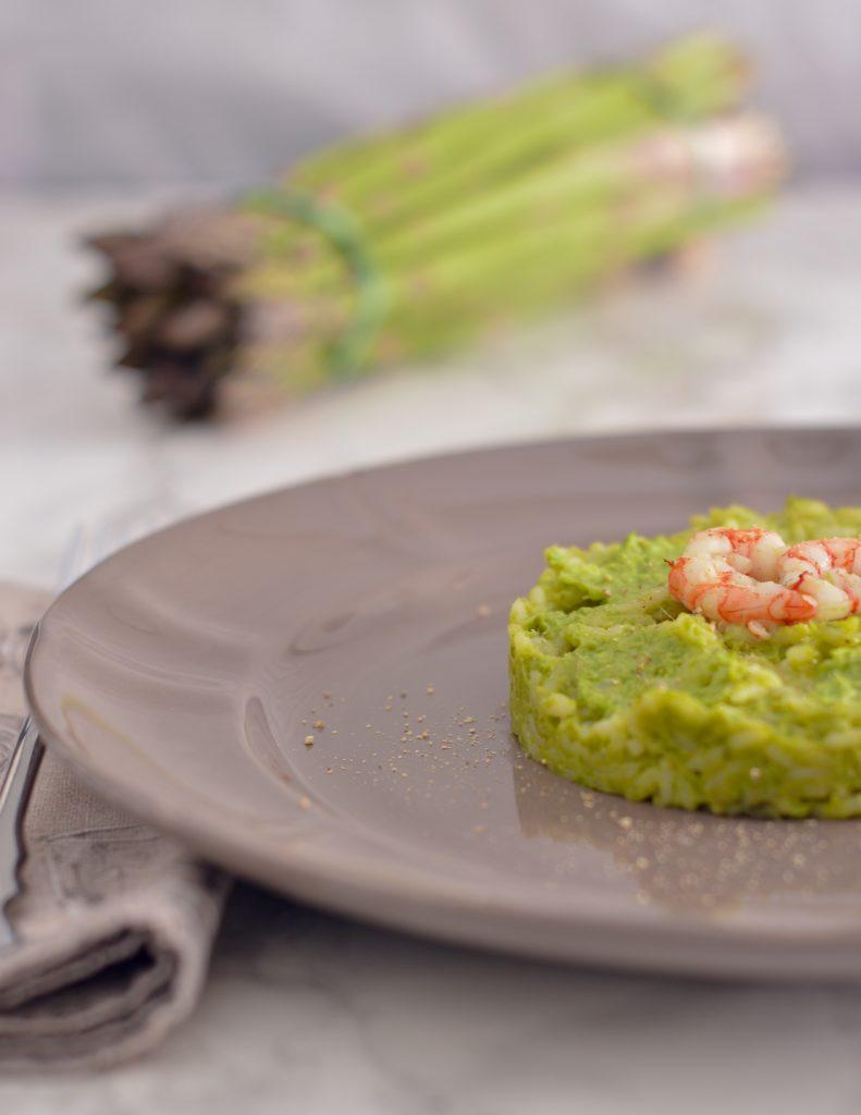 risotto-crema-asparagi-gamberi